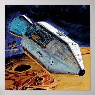 Apollo 15 Subsatellite Posters