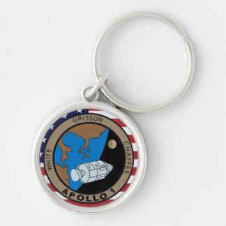 Apollo 1 Mission Patch Logo Key Ring