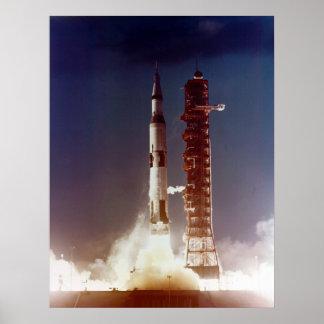 Apollo 4 Launch Poster