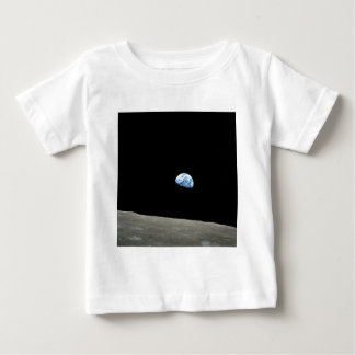 Apollo 8 NASA Moon Mission Earthrise Baby T-Shirt