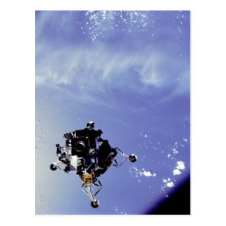 Apollo 9 Lunar Module Postcard