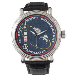 Apollo 9 NASA Mission Patch Logo Watch