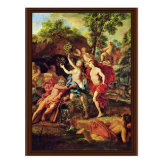 Apollo And Daphne By Loo Jean-Baptiste Van (Best Q Postcard