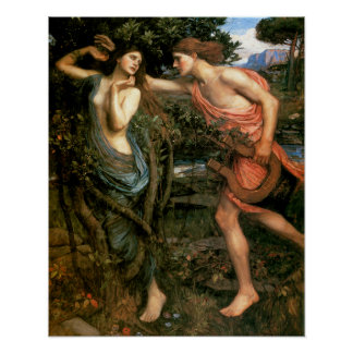 Apollo and Daphne Poster