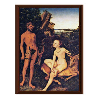 Apollo And Diana In The Forest Landscape, Apollo A Postcard