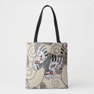 Apollo Butterfly Light Tote Bag