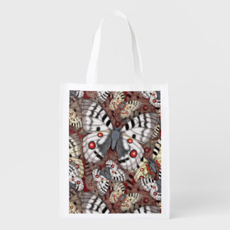 Apollo Butterfly Madness Reusable Grocery Bag