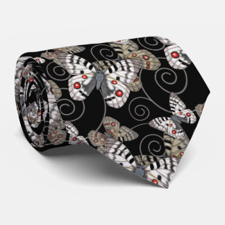 Apollo Butterfly Swirls Tie