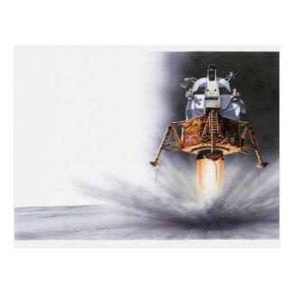 Apollo Eagle Lunar Module Postcard
