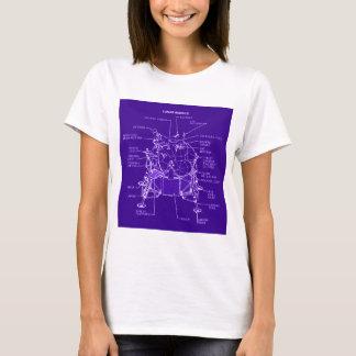 Apollo Lunar Module Blueprints T-Shirt