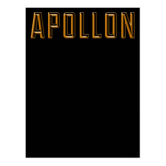 Apollo Postcard