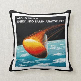 Apollo Program - Moon Mission Artist Concept Cushion