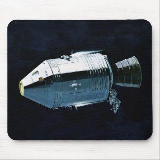 Apollo Program - Moon Mission Artist Concept Mouse Pad