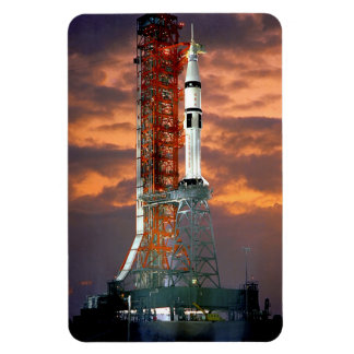Apollo-Soyuz Test Project Rectangular Photo Magnet