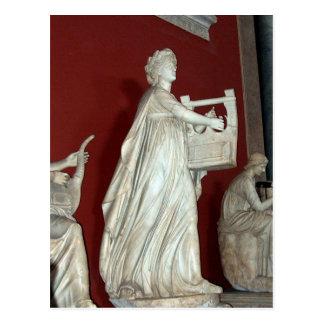 Apollo Statue in the Vatican Museum Postcard