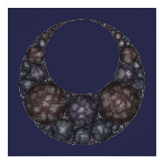 Apollonian Necklace Poster