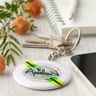 Apollow Round Keychain