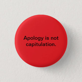 apology button