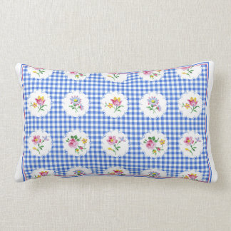 Apolonia delft cotton lumbar pillow