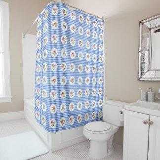 Apolonia delft shower curtain