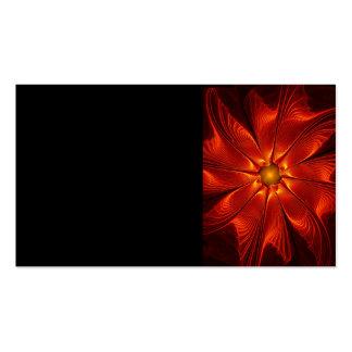 apophysis-421984 FIRE RED DIGITAL FLOWER apophysis Business Card