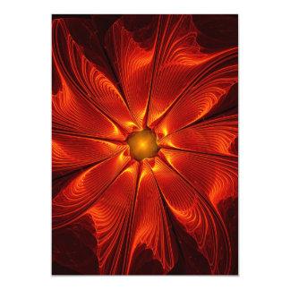 apophysis-421984 FIRE RED DIGITAL FLOWER apophysis Invitations