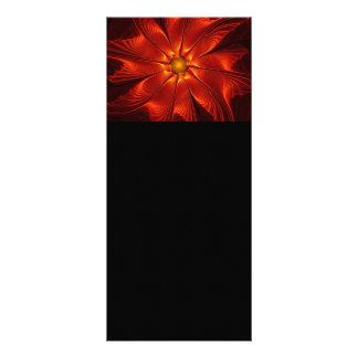 apophysis-421984 FIRE RED DIGITAL FLOWER apophysis Rack Card Design