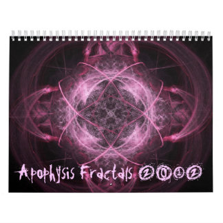 Apophysis Fractals 2012 Calendar