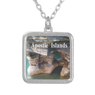 Apostle Islands Silver Plated Necklace