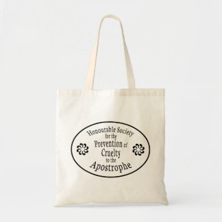 Apostrophe Rules Tote Bag