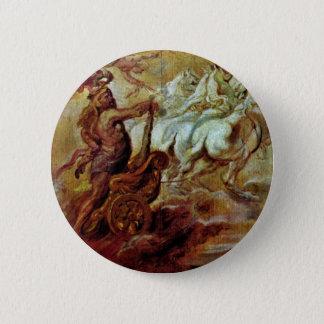 Apotheosis Of Hercules By Rubens Peter Paul 6 Cm Round Badge