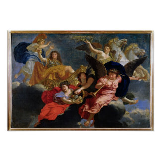 Apotheosis of King Louis XIV of France Poster