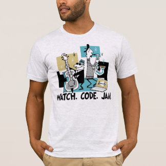App-o-Mat: Watch. Code. Jam. T-Shirt