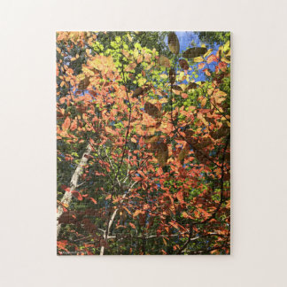 Appalachian Autumn Leaves Jigsaw Puzzle