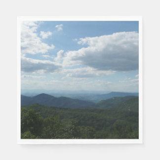Appalachian Mountains II Shenandoah Paper Napkin