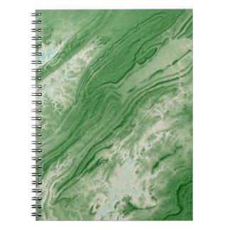 Appalachian Mountains in Alabama- Caribbean Style Notebook