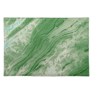 Appalachian Mountains in Alabama- Caribbean Style Placemat