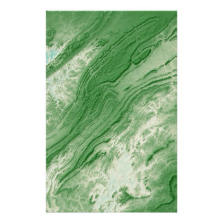 Appalachian Mountains in Alabama- Caribbean Style Stationery