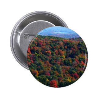 Appalachian Mountains in Fall Button