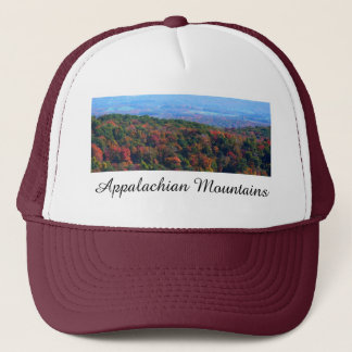 Appalachian Mountains in Fall Nature Photography Trucker Hat