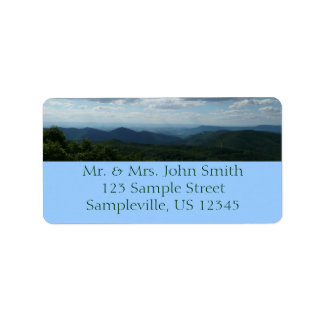 Appalachian Mountains Return Address Label