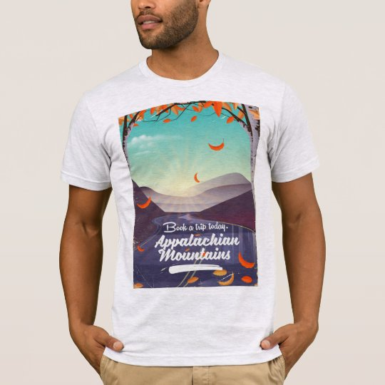 Appalachian Mountains vintage travel poster T-Shirt