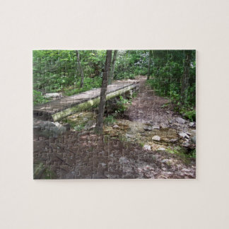 appalachian trail bridge jigsaw puzzle