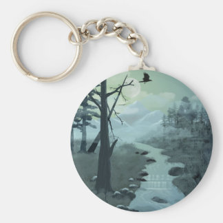 Appalachian Trail Creek Key Ring