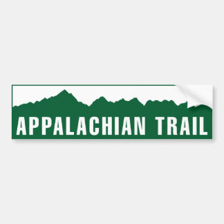 Appalachian Trail (Elevation) Bumper Sticker