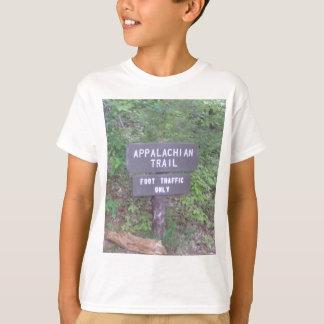 appalachian trail footpath sign T-Shirt
