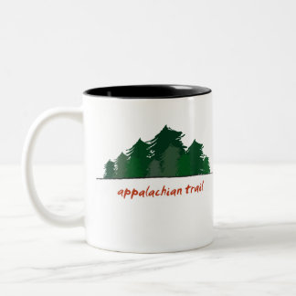 Appalachian Trail (Forest) Two-Tone Coffee Mug