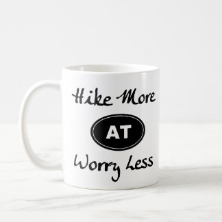 Appalachian Trail Hike More Worry Less Much Coffee Mug