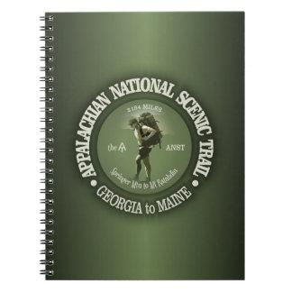 Appalachian Trail (o) Notebook