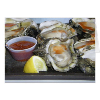 appalachicola oysters card